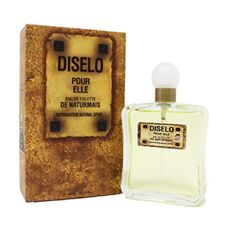 DISELO FOR HER Donna Eau De Parfum Intense 100 ml Profumo Equivalente, Ispirato a FUEL FOR LIFE FOR HER di DIESEL