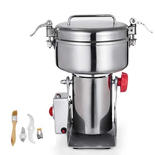 KITGARN 1000g Grain Grinder Mill 2800W Powder Machine Flour Mill Grinder...