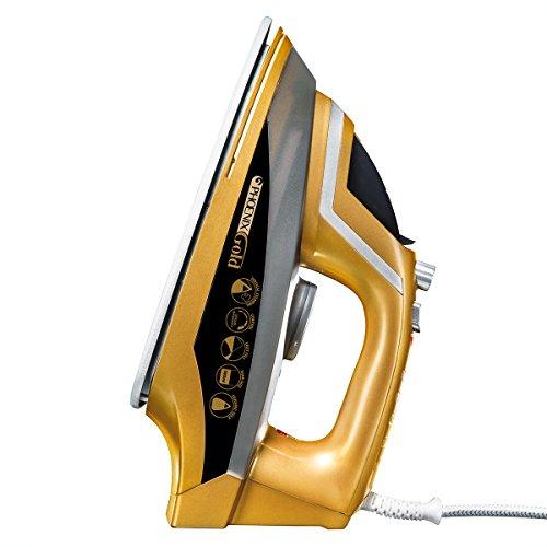 JML V16102-Ferro a Vapore Phoenix Gold, 2200 W, 380 ml, Plastica, Multicolore