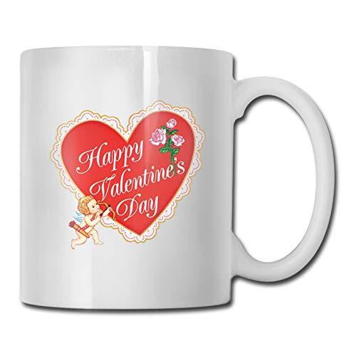 25 tazas divertidas de café de cerámica de 11 onzas regalo novedad perfecto para usar en casa o en la oficina, es una gran idea de regalo de San Valentín