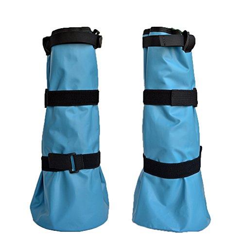 yeezo Hoof Soaking Boot Horse Soaker Hooves Treatment Bag with EVA Pad 1 Pair