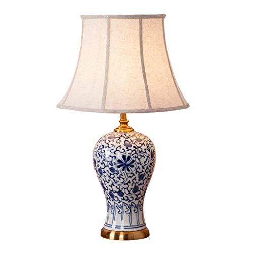 HNWNJ Lámpara de Mesa de cerámica Lámpara de Mesa de Sala de Estar