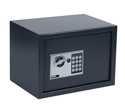 OfficeForce® Wandtresor 350 mit digitalem Zahlenschloss/Codeschloss, Safe, Tresor, Geldschrank, Stahlschrank, Geldsafe, Geldtresor, Panzerschrank, Dokumententresor, Möbeltresor (20105)
