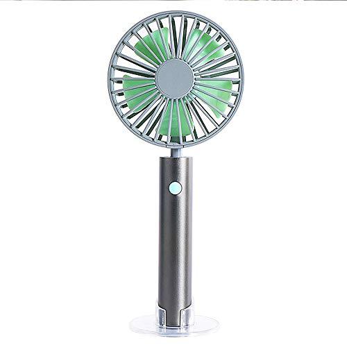 NCBH Creative Persoonlijke ventilator, aluminium buis afneembaar en wasbaar, Cool Sense Silent draagbaar, laadt een kleine ventilator voor binnen en buiten