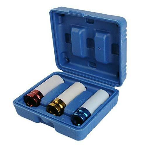 Set di 3 chiavi a bussola con attacco, a impatto 1/2', 17-19-21 mm, StahlRhein Professional