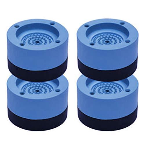 Yisily 4pcs Lavadora Pies Anti Vibración De La Lavadora Pies Choque Y...