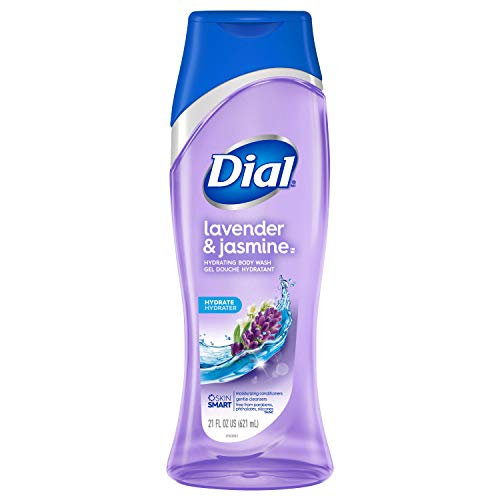 Dial Body Wash, Lavender & Jasmine, 21 Ounces (Count of 3)