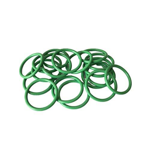 2 Pcs O-ring 120 mm x 126 mm x 3 mm   Fluorkautschuk - FKM/FPM Dichtung Gummidichtung Oring 120x3-75 ShA