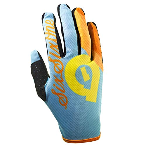 SixSixOne Unisex Handschuhe Comp, Hellblau, XL