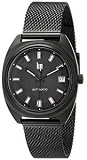腕時計 Lip Unisex 1872882 GDG Automatic Analog Display Japanese Automatic Black Watch [並行輸入品]