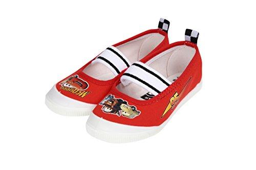 (ディズニー) Disney 【カーズ】 なかよしDN05 ムーンスタ- 上履き 子供 17cm レッド