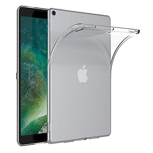 AICEK Cover iPad PRO 10.5, Trasparente Silicone Cover per iPad PRO 10.5 Custodia iPad PRO 10.5 (10.5 Pollici) Silicone Cover Case