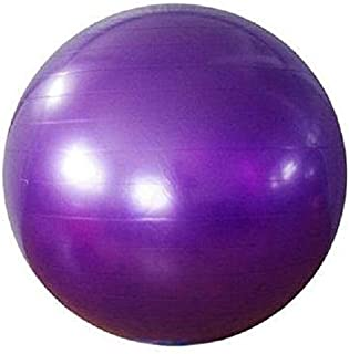 65cm Rubber Pregnancy Birthing Exercise Fitness AB Weight Loss Yoga Ball Purple