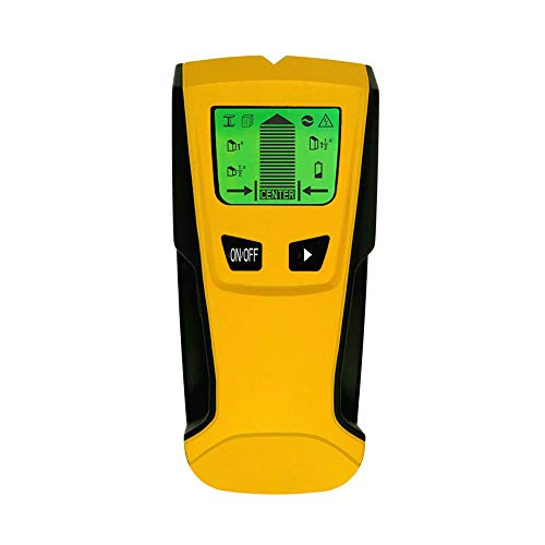axGear Stud Finder Wall Metal Detector Live AC Wire Scanner Wood Checker LED Display