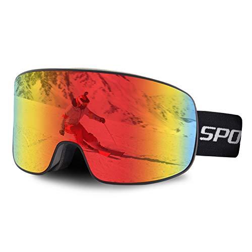 DUDUKING Gafas de Esquí, Gafas de Snowboard UV400 Protecci�