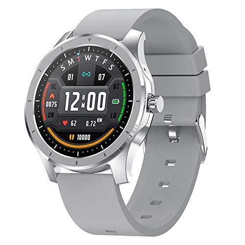 YDZ MX10 Reloj Inteligente Impermeable, Pantalla De 1.28 Pulgadas Bluetooth Llamada Bluetooth 512M Música Música Reloj De Hombre Mujer Mujer PULSURA PK MX11 L13 para Android iOS,B