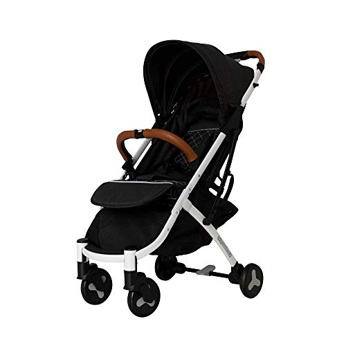 Lightweight Compact Foldable Travel Stroller : Convenient, Portable Travel pram for Baby and Toddler. Sturdy Baby Strollers for Summer and Winter Travelling