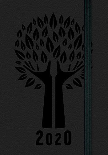 Agenda settimanale tascabile nera 2020 | 9 x 14 cm