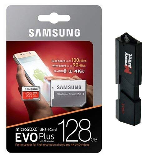 Amazon.com: Samsung 128GB MicroSD XC Class 10 Grade 3 UHS-3 ...