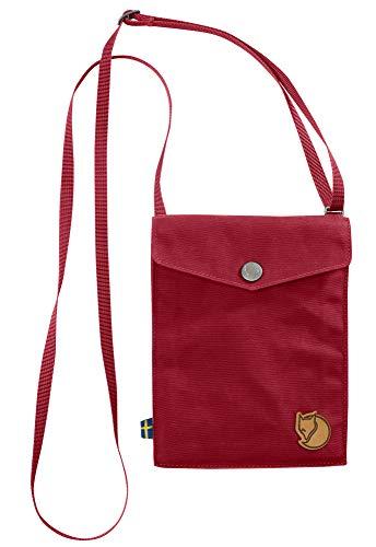 FJÄLLRÄVEN Pocket Bolsa de Tela y de Playa, Unisex Adulto, Rojo (Redwood), 18 Centimeters