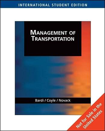 Management of Transportation