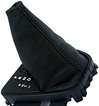 KarDesigners Fits 2008-2012 Land Rover LR2 Synthetic Black Leather Automatic Shift Boot (Skin Only)