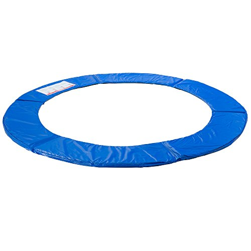 Arebos Trampoline Safety Pads / 6, 8, 10, 12,13, 15 or 16 ft/blue (blue, 16 ft)
