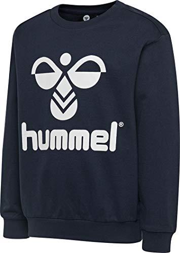 hummel Sudadera Unisex Infantil Hmldos, Unisex niños, Camisetas, 203659, Negro , 122