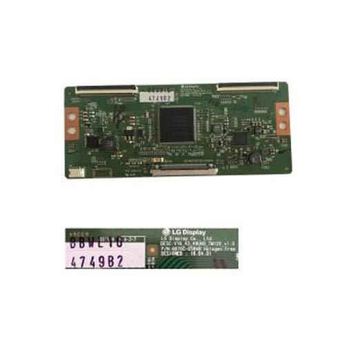 Desconocido Placa T-con LG 6870C-0584B LG 49UH610V. LG 49UH620V, LG 49UH603V.