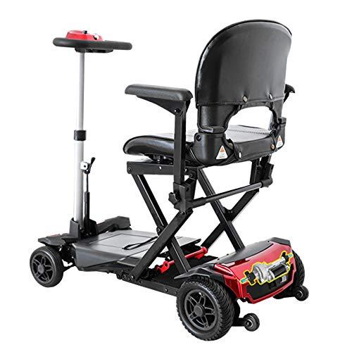 LIYIN Scooter de Movilidad Plegable fácil de Lujo - Patinete eléctrico de...