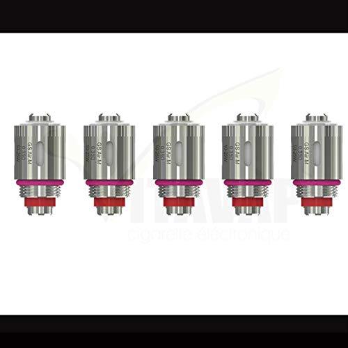 Vitavap' - Lot de 5 résistances GS AIR M en 0,35 Ohm pour Istick AMNIS Eleaf | GS DRIVE Eleaf - GARANTIT ORIGINAL - Sans tabac ni nicotine