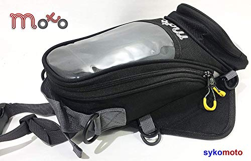 Viper MotorFiet stookolietanktas 4Liter Trekker Mini X2 waterbestendige ritsen GPS-zak voor Alle Motorfietsen en Scooters