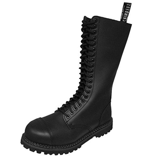 Grinders King 2015 Black Mens Safety Steel Toe Derby Boots, Size 13