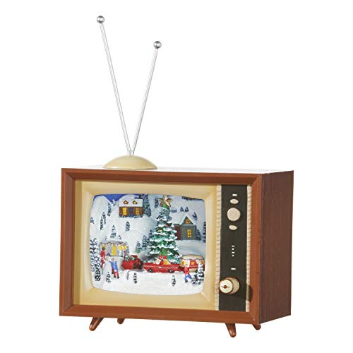 RAZ Imports Tree and Camper Animated Musical TV