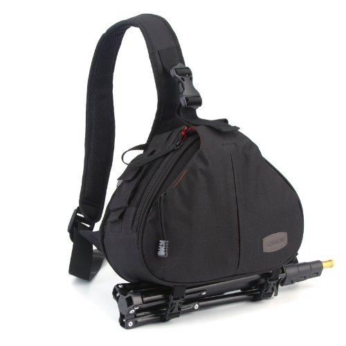 douself Caden K1 Moda Casual impermeable cámara réflex digital bolsa resistente agua caso bolsa de mensajero del hombro para Canon Nikon Sony