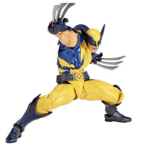 figurecomplex AMAZING YAMAGUCHI ウルヴァリン Wolverine 再販 約155mm ABS&PVC製 塗装済アクションフィギュア リボルテック