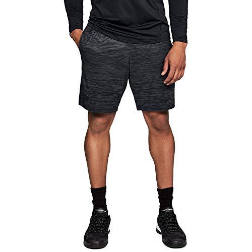 Under Armour Herren UA MK-1 Twist Shorts atmungsaktive und leichte Sportshorts, komfortable und schnelltrocknende Kurze Sporthose, Schwarz, XL