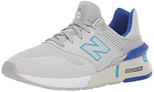 New Balance Men's 997v1 Sneaker, Light Aluminum/Bayside, 11.5 D US