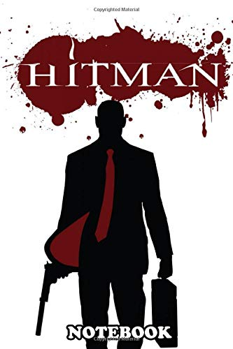 Notebook: Agent 47 , Journal for Writing, College Ruled Size 6