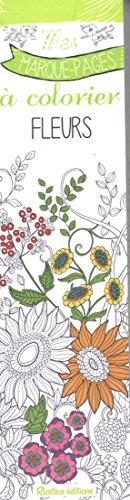 Fleurs - Mes marques-pages à colorier de Marica Zottino
