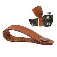 アコースティックギターネックストラップボタンヘッドストックアダプター合成皮革