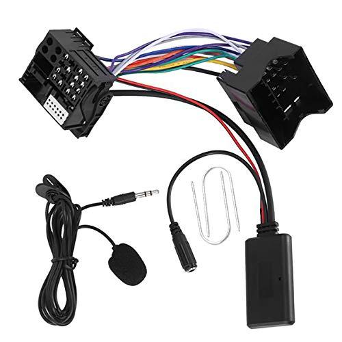 Andifany Coche 5,0 Cable Auxiliar MicróFono Manos Libres TeléFono MóVil Adaptador de Llamada Gratuita para C2 C5 RD4