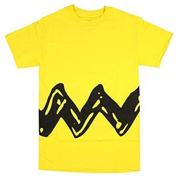 Peanuts Charlie Brown Double Sided Zig Zag Costume Shirt  Medium