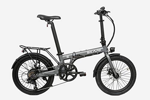 Bicicleta Elétrica Dobrável Skape S - 350W / 20