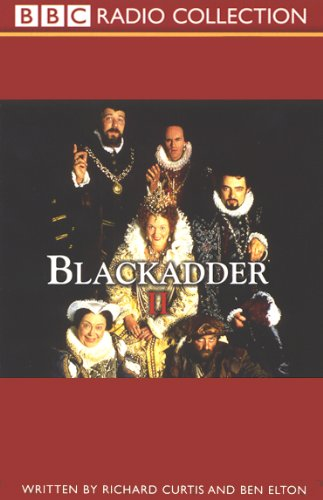 Blackadder II audiobook cover art