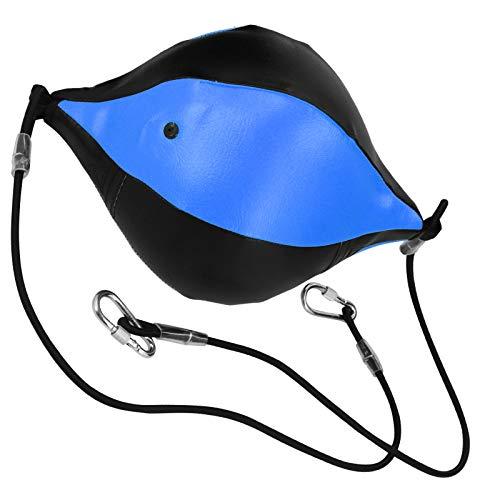KUIDAMOS Saco de Boxeo Inflable con Bola de Boxeo Que Reduce el estrés por presión para el Juego de Deportes al Aire Libre(Black Blue)