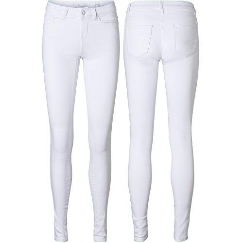 ONLY Vero Moda Skinny stretch jeans broek dames zwart blauw regular fit sale