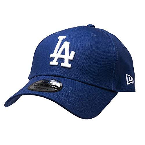 New Era League Essential 9Forty Los Angeles Dodgers, Coperchio Uomo, Blu, Taglia Unica