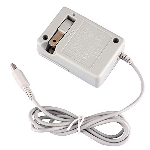 DSi Charger, AC Adapter Charger for Nintendo DSi/DSi XL, Home Travel Charger Wall Plug Power Adapter (100-240 v)
