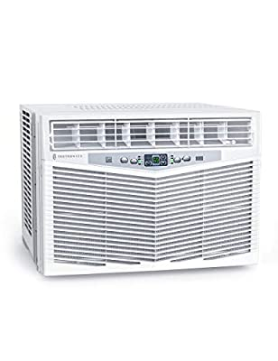 TaoTronics TT-AC001 Window Air Conditioner 10000 BTU 115V Window-Mounted AC with 3 Fan Speed, Dehumidifier Mode, Sleep Mode, Remote Control, White